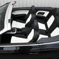 Audi a5 cab s-line black  white leather 002