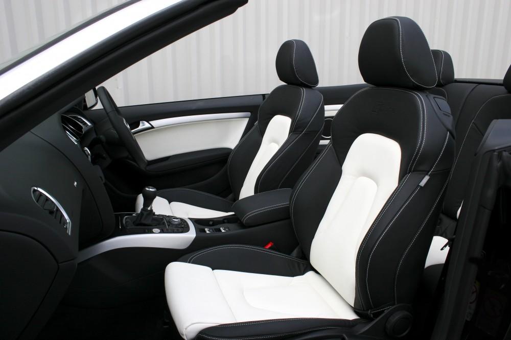 audi a5 leather seats automotive leather specialists trim technik. Black Bedroom Furniture Sets. Home Design Ideas