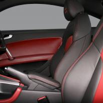 Audi tt coupe spt black leather with red inserts 003
