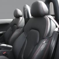 Audi tt roadster nl black leather red stitching 003