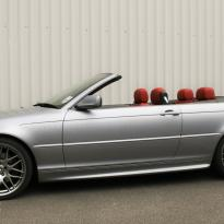 Bmw e46 cab m sport coral red leather 001