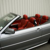 Bmw e46 cab m sport coral red leather 002