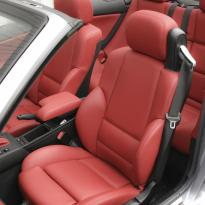 Bmw e46 cab m sport coral red leather 003