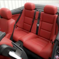 Bmw e46 cab m sport coral red leather 004