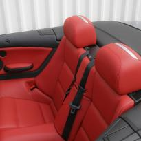 Bmw e46 cab m sport coral red leather 010