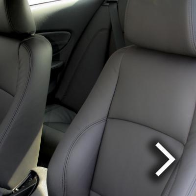 Bmw e82 coupe sport black leather thumbnail