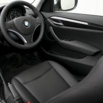 Bmw e84 x1 se black leather with yellow piping 006