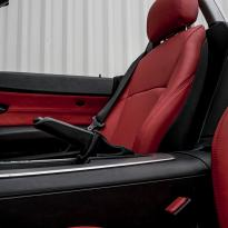 Bmw e85 z4 roadster red leather se 006