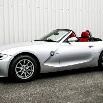 Bmw e85 z4 roadster red se 001