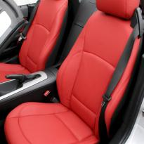 Bmw e85 z4 roadster red se leather 003