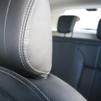 Dacia duster ambience black leather with silver stitching 006