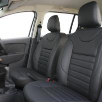Dacia logan laureate black leather 004