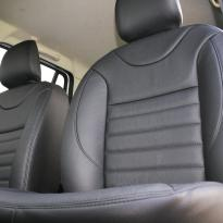 Dacia logan laureate black leather 005