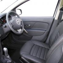 Dacia logan laureate black leather 007