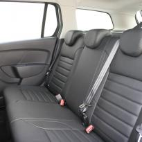 Dacia logan laureate black leather 009
