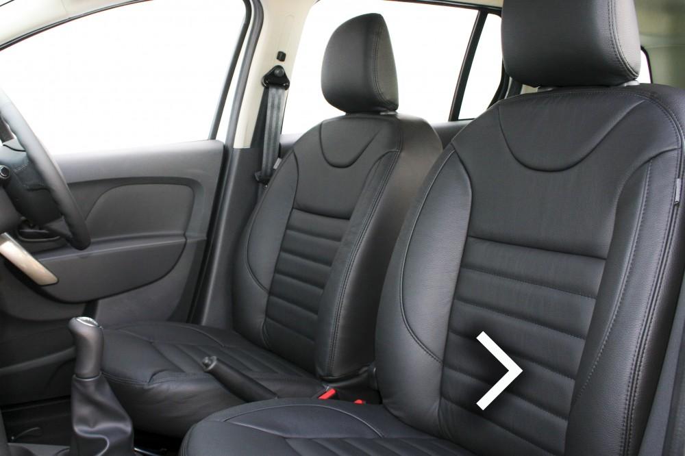 dacia duster leather seats automotive leather specialists trim technik. Black Bedroom Furniture Sets. Home Design Ideas