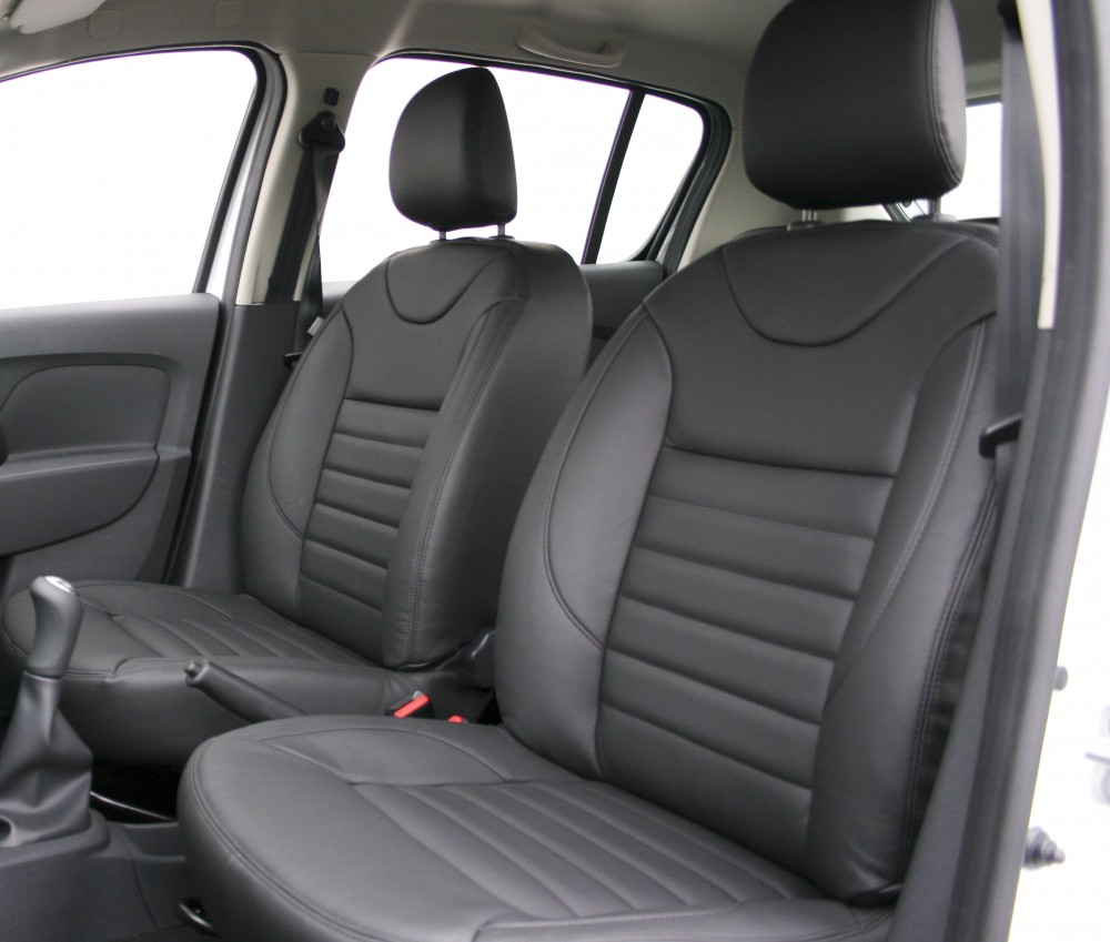 Dacia sandero leather seats automotive leather for Dacia sandero interior