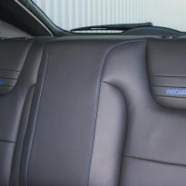 Ford focus rs black leather with blue stitching 006