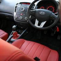 Kia ceed coral red leather 003