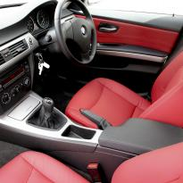 Bmw e90 saloon se ml red leather 005