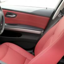 Bmw e90 saloon se ml red leather 009