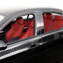 Bmw e90 saloon m sport dakota koral red leather 002