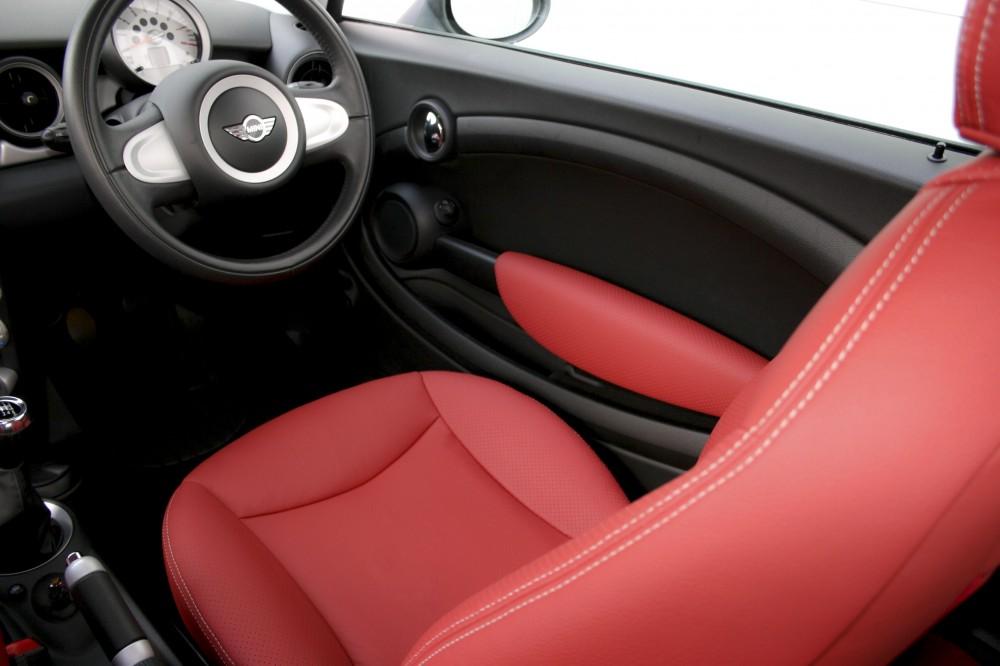 mini hatch leather seats automotive leather specialists trim technik. Black Bedroom Furniture Sets. Home Design Ideas