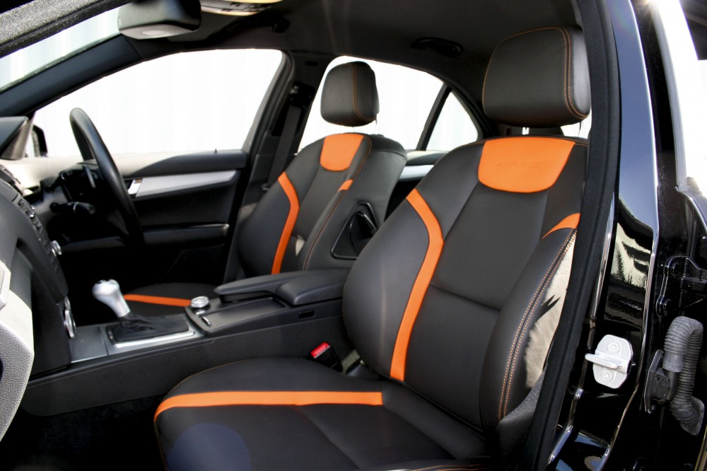mercedes c class leather seats automotive leather. Black Bedroom Furniture Sets. Home Design Ideas