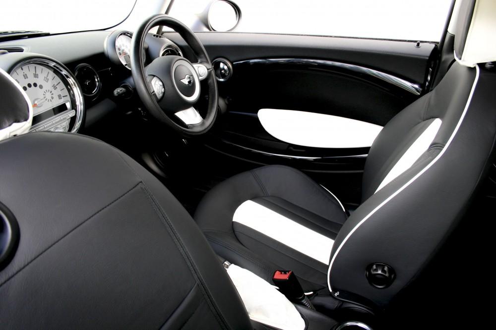 mini clubman leather seats automotive leather specialists trim technik. Black Bedroom Furniture Sets. Home Design Ideas