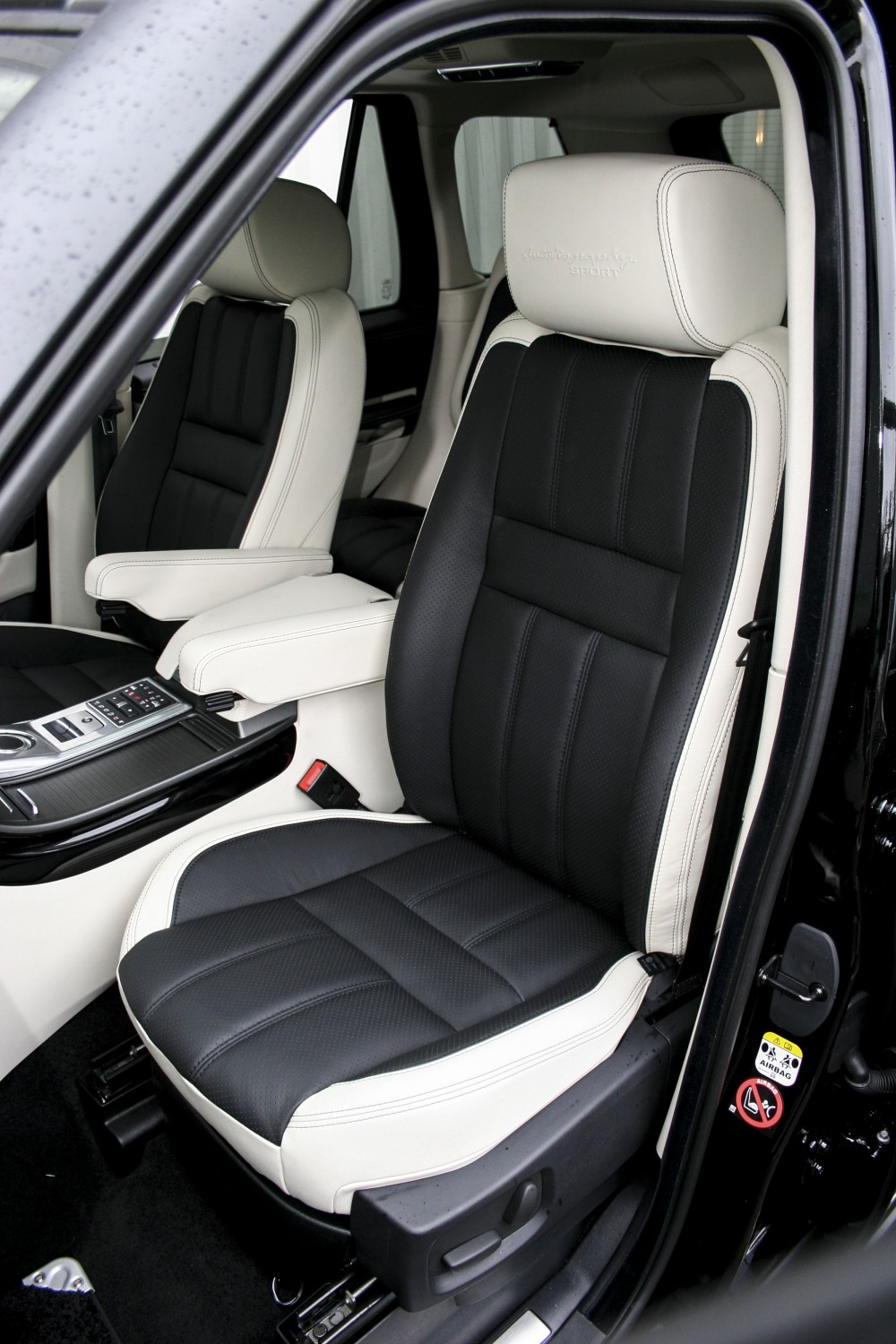 Range rover sport leather seats automotive leather - Range rover with red leather interior ...