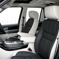 Rangerover sport autobiography ivory nappa with black nappa inserts  stitching 004