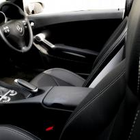 Merc 171 slk roadster black with silver stitching 006