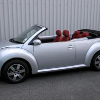 Vw beetle cab sport red 001