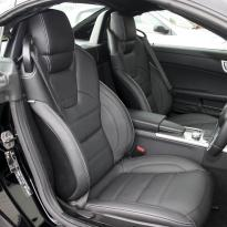 Roadster black leather white stitching 7