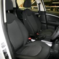 Mini clubman cloth seats 1