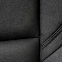 Subaru wr sti black leather seat 6
