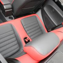 Beetle cabriolet design black with red outer boarders(8)