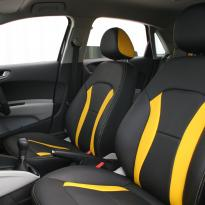 Audi a1 sptback se black with yellow inserts(3)