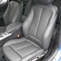 Bmw f22 coupe m sport dakota black with blue stitching(3)