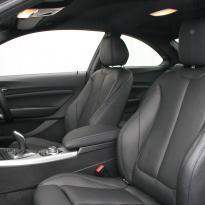 Bmw f22 coupe m sport dakota black with blue stitching(4)