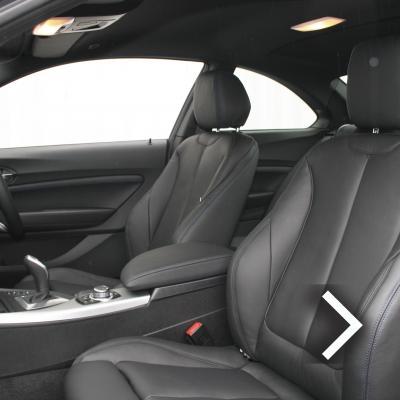 Bmw f22 coupe m sport dakota black with blue stitching(4) copy