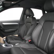 Audi q3 s-line black leather(3)
