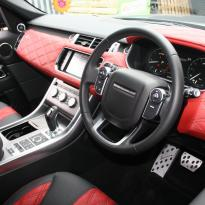 Range rover sport lumma clr sv pimento red, ebong windsor nappa leather(9)