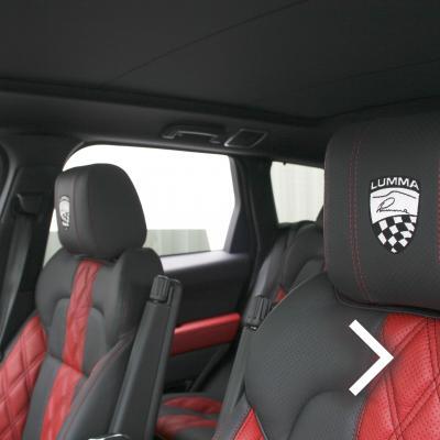 Range rover sport lumma clr sv pimento red, ebong windsor nappa leather