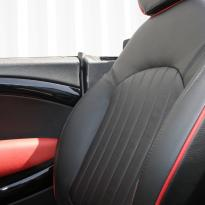 Mini r59 roadster spt lounge black with red piping(7)