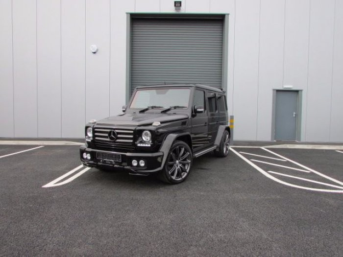 Mercedes benz g wagon classic red nappa leather and black for Mercedes benz leather