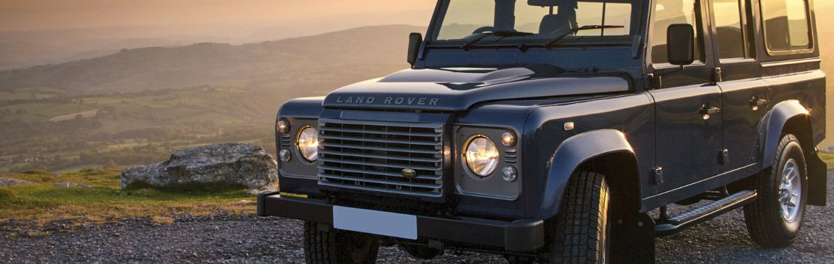 Land rover defender leather trim technik