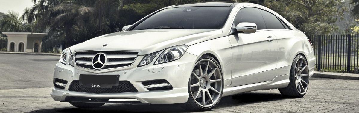 Mercedes e-class leather trim technik