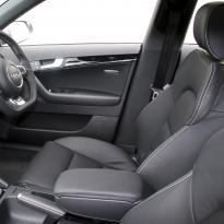 Audi rs3 sportback black leather with silver stitching 003