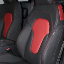 Audi tt coupe spt black leather with red inserts 002
